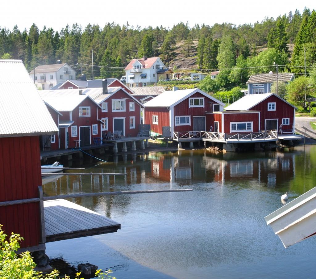 Sjöbodarna i Bönhamn